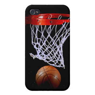 Basket-ball pour 4 4S Coques iPhone 4/4S