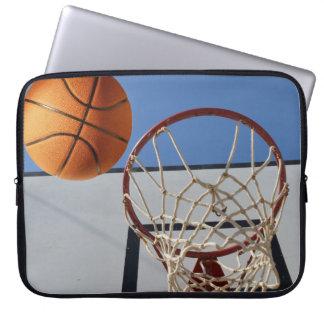 Basket-ball, _Scoring_Points, _15_Inch, Housse Pour Ordinateur Portable
