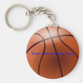 Basket-ball votre nom d équipes ici porte-clé