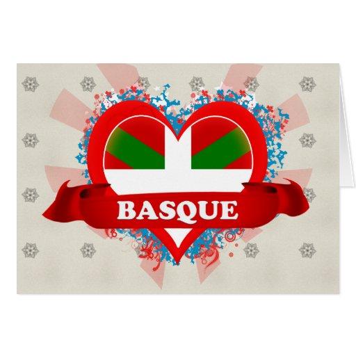 Basque d'amour du cru I Carte De Vœux