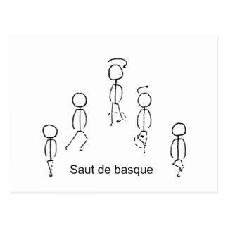 Basque de Saut De Carte Postale