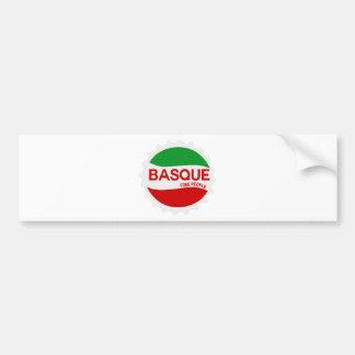 Basque free people autocollant de voiture