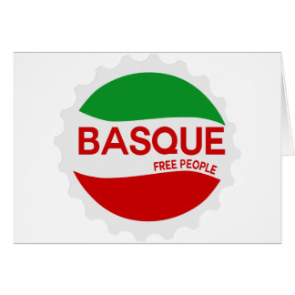 Basque free people carte de vœux