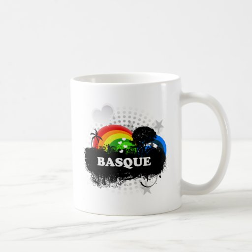Basque fruité mignon mugs à café