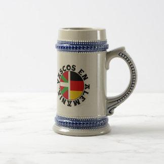 Basques dans le logo de l'Allemagne, Chope À Bière