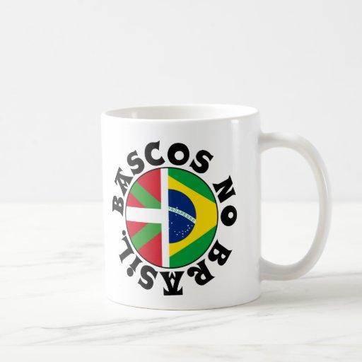 Basques dans le logo du Brésil, Tasse À Café