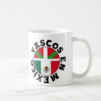 Basques dans le logo du Mexique, Mug Blanc