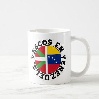 Basques dans le logo du Venezuela, Mug Blanc