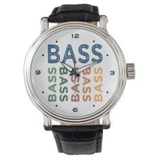 Basse colorée montres