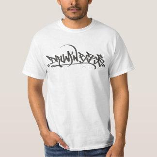 Basse de N de tambour de graffiti ' T-shirt