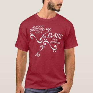 Basse de T-shirt de choeur pour l'appui 12