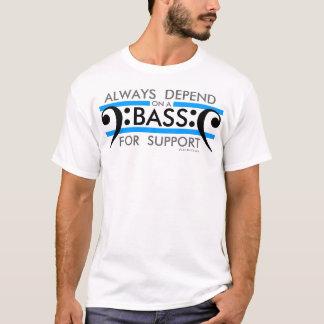 Basse de T-shirt de choeur pour l'appui 2