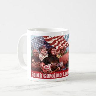 Basse et lente tasse de la Caroline du Sud