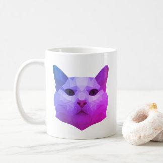 Basse poly tasse de chat