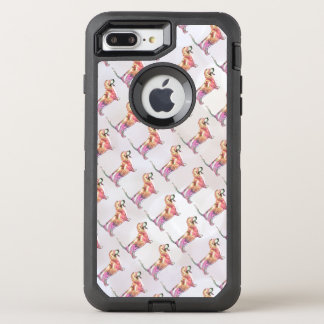 Basset Hound Coque Otterbox Defender Pour iPhone 7 Plus