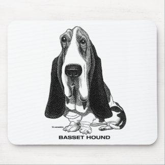 Basset Hound Mousepad Tapis De Souris