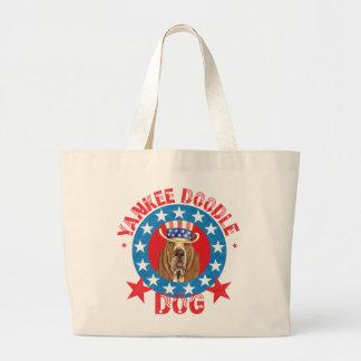 Basset patriotique grand sac