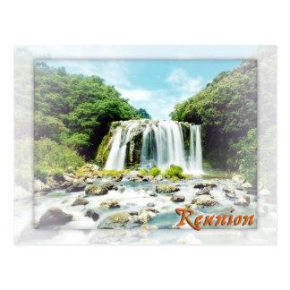 Bassin bleu la Réunion Carte Postale