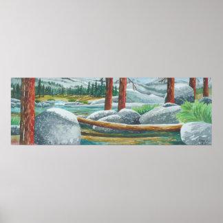 Bassin de Tahoe Poster