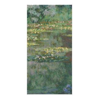 Bassin des nénuphars par Claude Monet Photocartes Personnalisées