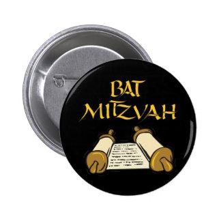 Bat mitzvah pin's avec agrafe