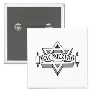 Bat mitzvah badges