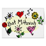Bat mitzvah cartes de vœux