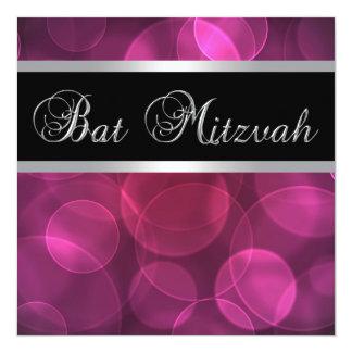 Bat mitzvah de roses indien carton d'invitation  13,33 cm