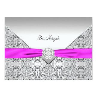 Bat mitzvah de roses indien carton d'invitation  12,7 cm x 17,78 cm