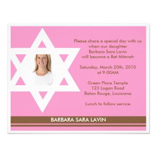 Invitations Bat Mitzvah