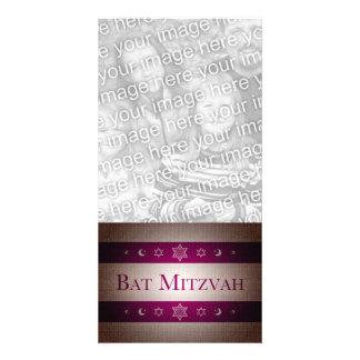 Bat mitzvah modèle pour photocarte