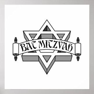 Bat mitzvah affiche