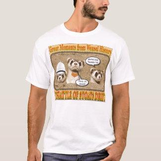 Bataille de dérive de hermines t-shirt