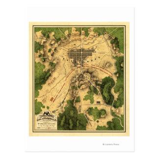 Bataille de Gettysburg 10 Carte Postale