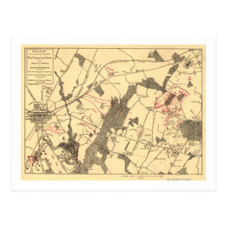 Bataille de Gettysburg 15 Carte Postale