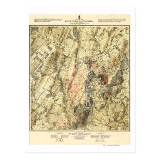 Bataille de Gettysburg 5 Carte Postale