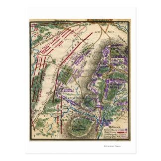 Bataille de Gettysburg 8 Carte Postale