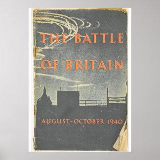 bataille de la Grande-Bretagne Posters