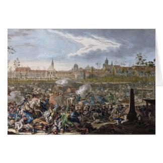 Bataille de Leipzig, le 19 octobre 1813 Carte De Vœux