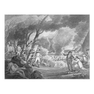 Bataille de Lexington Carte Postale