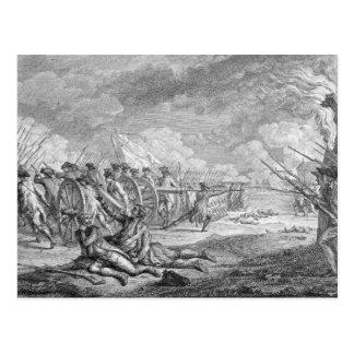 Bataille de Lexington, des 'd'Estampes de Recueil Carte Postale