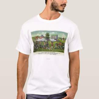 Bataille de scène de Lexington T-shirt