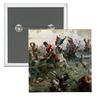 Bataille de waterloo, le 18 juin 1815, 1898 (coule badges