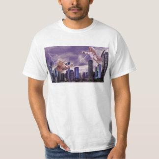 Bataille des chats t-shirt