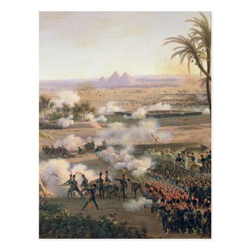 Bataille des pyramides, le 21 juillet 1798, 1806 cartes postales