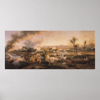 Bataille des pyramides, le 21 juillet 1798, 1806 affiche