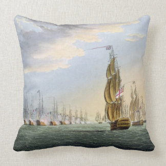 Bataille du Nil, le 1er août 1798, gravé par T Coussin Décoratif