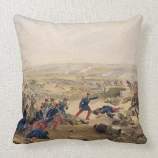 Bataille du Tchernaya, le 16 août 1855, plat f Oreillers