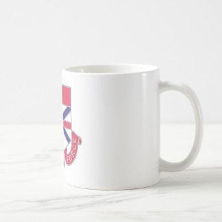 Bataillon de 192 produits chimiques tasses à café