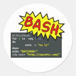 Batchman Sticker Rond